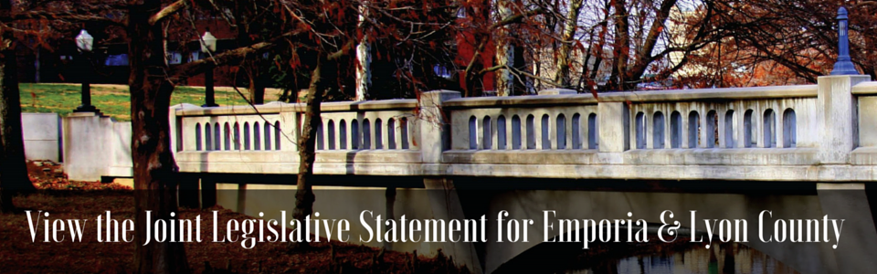 View the Joint Legistlative Statement for Emporia & Lyon County